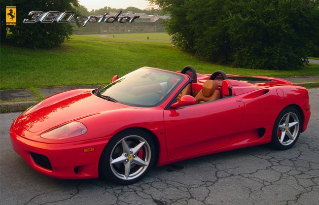 Ferrari Modena Convertible 3