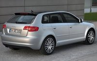 2009 Audi A3, Back Right Quarter View, exterior, manufacturer