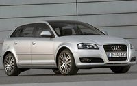 2009 Audi A3, Front Right Quarter View, exterior, manufacturer