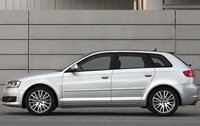 2009 Audi A3, Left Side View, exterior, manufacturer