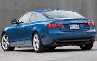 2009 Audi A5, Back Left Quarter View, exterior, manufacturer