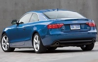 2009 Audi A5, Back Left Quarter View, manufacturer, exterior