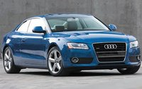 2009 Audi A5, Front Right Quarter View, exterior, manufacturer