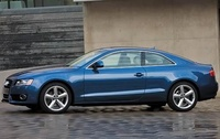 2009 Audi A5, Left Side View, manufacturer, exterior