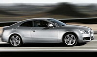 2009 Audi A5, Right Side View, manufacturer, exterior