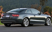 2009 Audi S5, Back Right Quarter View, manufacturer, exterior