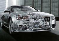 2009 Audi S5, Interior/Exterior Front Right Quarter View, exterior, interior, manufacturer