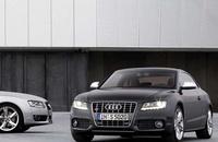 2009 Audi S5, Front Left Quarter View, exterior, manufacturer