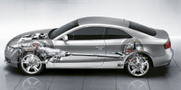 2009 Audi S5, Interior/Exterior Left Side View, manufacturer, exterior, interior