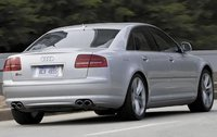 2009 Audi S8, Back Right Quarter View, exterior, manufacturer