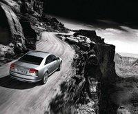 2009 Audi S8, Back Right Quarter View, exterior, manufacturer