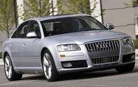 2007 Audi S8, Front Right Quarter View, exterior, manufacturer