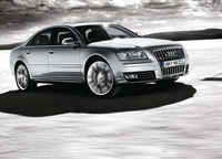 2009 Audi S8, Front Right Quarter View, exterior, manufacturer