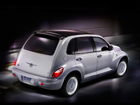2009 Chrysler PT Cruiser, Back Right Quarter View, manufacturer, exterior