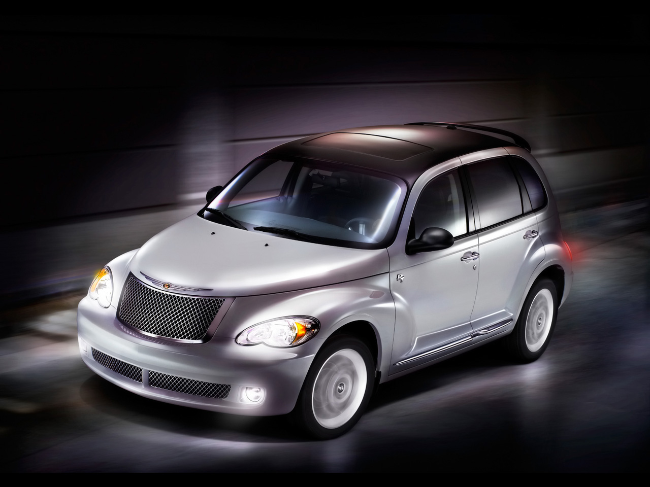 2009 Chrysler PT Cruiser, Left Front Quarter View, manufacturer, exterior
