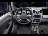 2009 Chrysler PT Cruiser, Interior Front Dash View, interior, manufacturer
