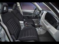 2009 Chrysler PT Cruiser, Interior Front Side View, interior, manufacturer