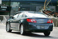 2009 Chrysler Sebring, Back Left Quarter View, exterior, manufacturer