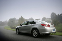 2009 Chrysler Sebring, Back Left Quarter View, manufacturer, exterior