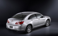 2009 Chrysler Sebring, Back Right Quarter View, manufacturer, exterior
