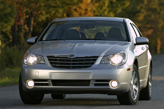 2009 Chrysler Sebring, Front View, exterior, manufacturer, gallery_worthy