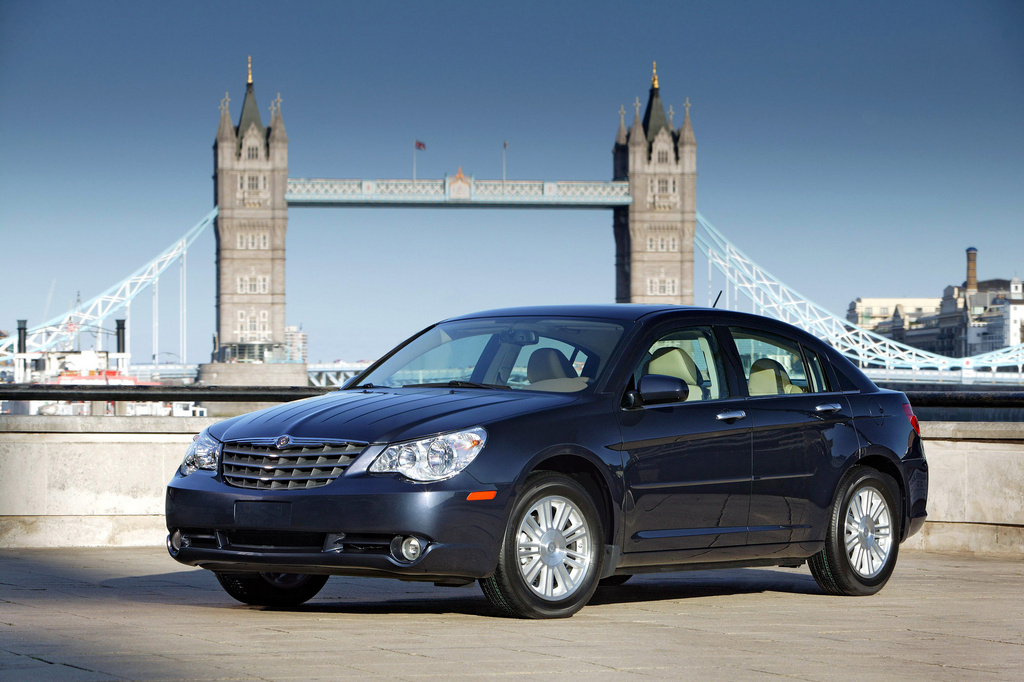 2009 Chrysler Sebring, Front Left Quarter View, manufacturer, exterior