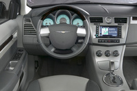 2009 Chrysler Sebring, Interior Front View, manufacturer, interior
