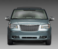 2009 Chrysler Town & Country, Front View, exterior, manufacturer