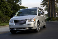 2009 Chrysler Town & Country, Front Left Quarter View, exterior, manufacturer