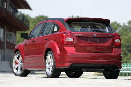 2009 Dodge Caliber SRT4, Back Left Quarter View, exterior, manufacturer