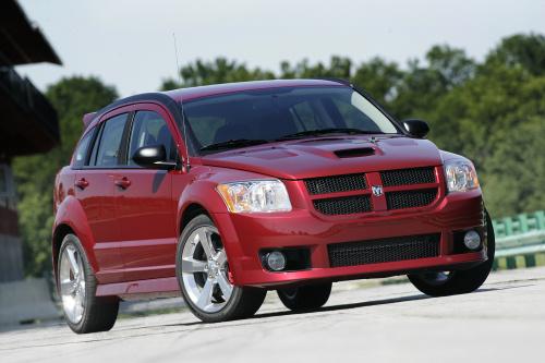 2009 Dodge Caliber SRT4, Front Right Quarter View, exterior, manufacturer, gallery_worthy