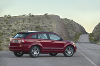 2009 Dodge Caliber, Back Right Quarter View, manufacturer, exterior