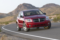 2009 Dodge Caliber, Front Right Quarter View, manufacturer, exterior