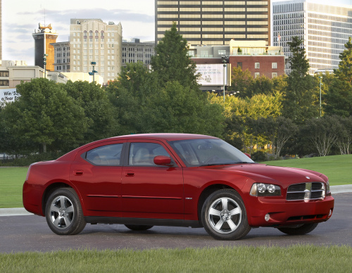 2009 Dodge Charger, Front Right Quarter View, exterior, manufacturer