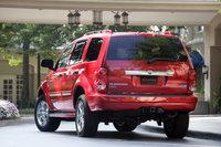 2009 Dodge Durango Hybrid Limited 4WD, Back Left Quarter View, exterior, manufacturer