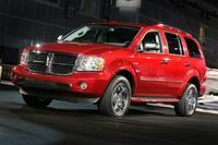 2009 Dodge Durango Hybrid Limited 4WD, Front Left Quarter View, exterior, manufacturer