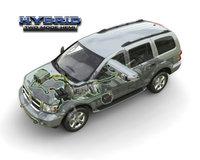 2009 Dodge Durango Hybrid Limited 4WD, Overhead Interior/Exterior View, exterior, interior, manufacturer