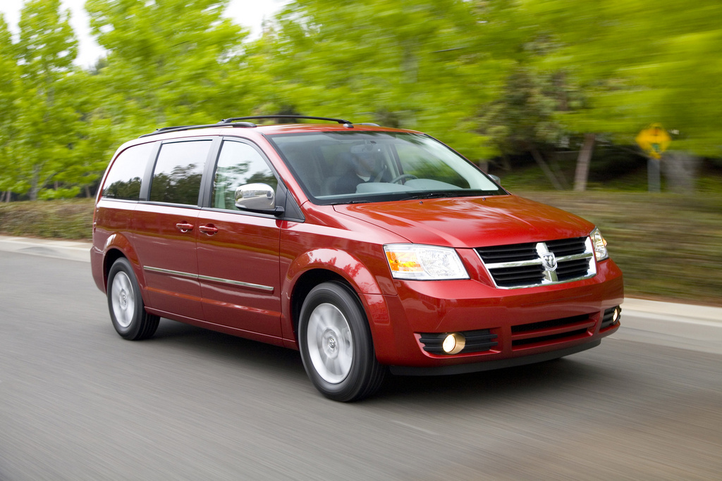 2009 Dodge Grand Caravan, Front Right Quarter View, manufacturer, exterior