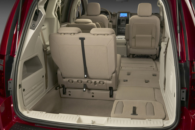 2009 Dodge Grand Caravan, Interior Cargo View, interior, manufacturer, gallery_worthy