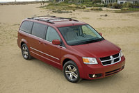 2009 Dodge Grand Caravan, Front Right Quarter View, exterior, manufacturer, gallery_worthy