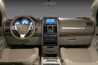 2009 Dodge Grand Caravan, Interior Dash View, manufacturer, interior