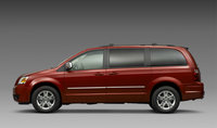 2009 Dodge Grand Caravan, Left Side View, exterior, manufacturer, gallery_worthy