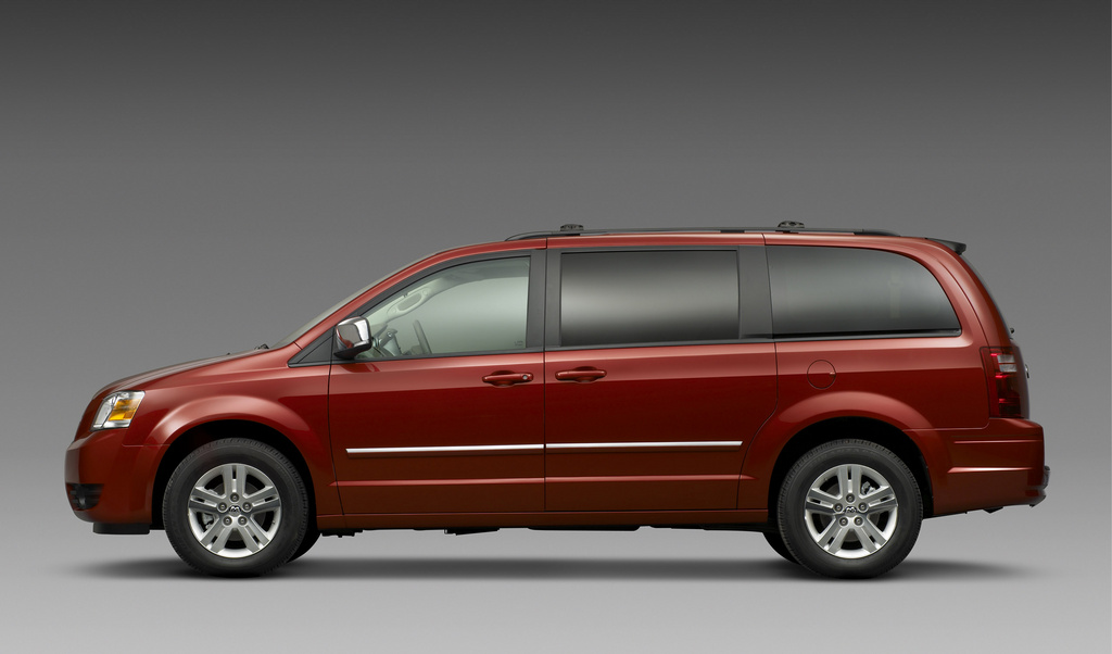 2009 Dodge Grand Caravan, Left Side View, exterior, manufacturer