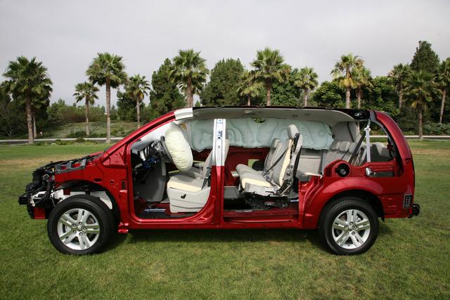 2009 Dodge Grand Caravan, Interior/Exterior Left Side View, exterior, interior, manufacturer