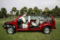 2009 Dodge Grand Caravan, Interior/Exterior Left Side View, manufacturer, exterior, interior