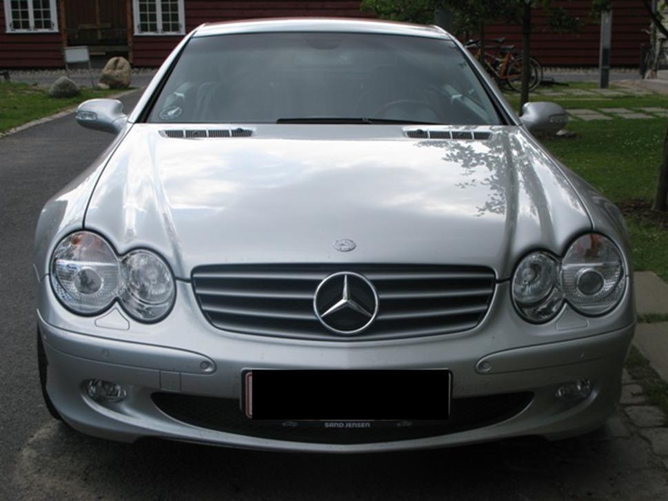 2002 Mercedes-Benz SL-Class Images