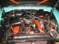 Picture of 1957 Chrysler Saratoga, engine