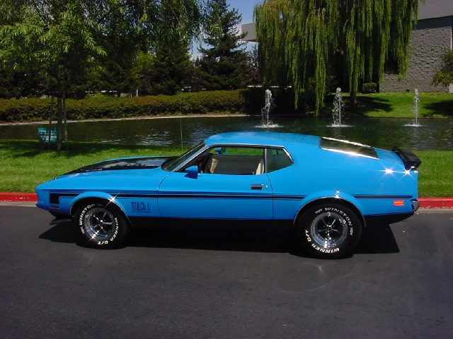 1972 ford mustang mach - photo #18