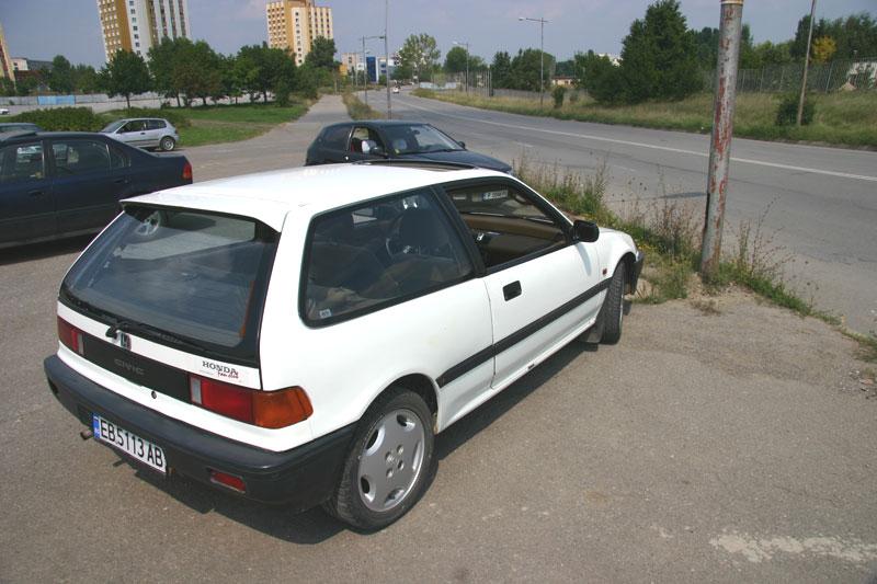 Bradley emmanuel 1988 honda civic hatchback for Honda civic 1988