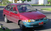 Picture of 1997 Ford Aspire 2 Dr STD Hatchback, exterior, gallery_worthy